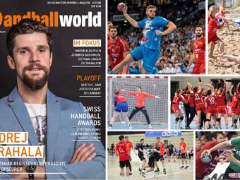 Die aktuelle Handballworld Ausgabe ist erschienen
