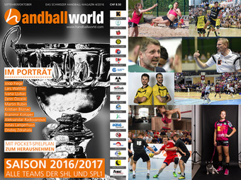 Das handballworld Magazin 4/16