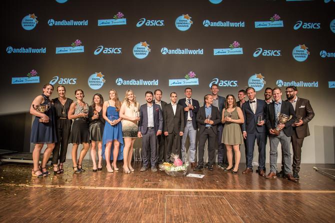 Karin Weigelt und Andy Schmid gewinnen an der Awards Night