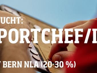 SPORTCHEF / SPORTCHEFIN BSV BERN NLA (20 – 30 %)