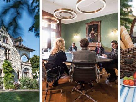 Villa Boveri - der stilvolle Rahmen für besondere Anlässe