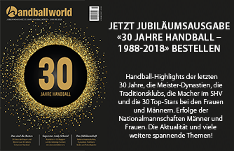 Handballworld Jubiläumsausgabe - Jetzt bestellen!