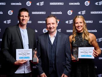 SieGer/Innen Swiss Handball aWards 2021