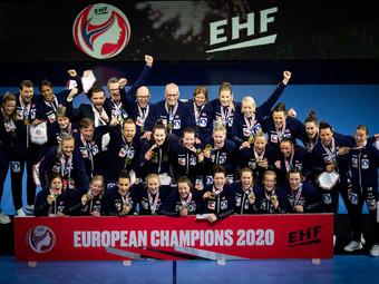 Norwegen ist zum 8. Mal Frauen Europameister