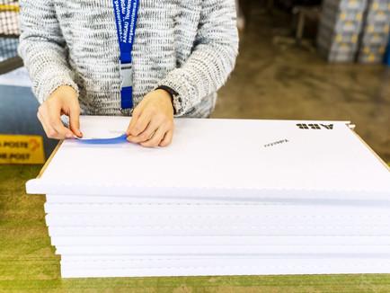 Arwo Stiftung  - Verpackung