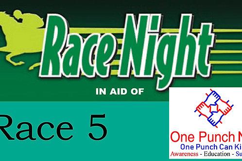 Race 5 - Horse 5