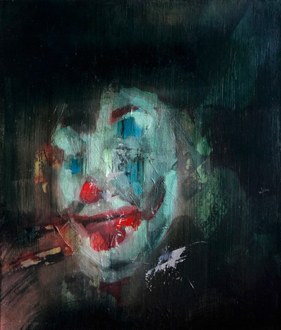 Score 2021 Oil on canvas 30 x 35 cm