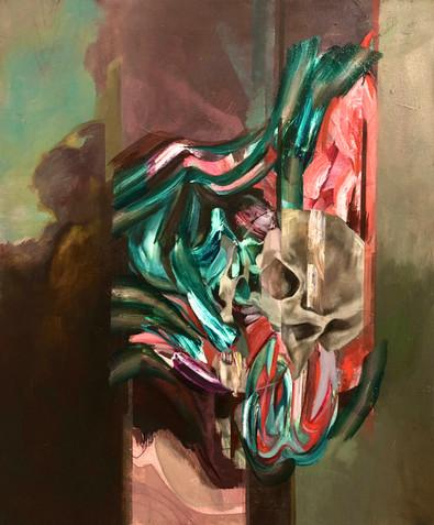 Fuse 2020 Oil on canvas 50 x 60 cm Available through the ArtisAnn Gallery, Belfast