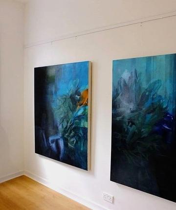 Installation Photograph from the ArtisAnn Gallery, Belfast 2018 Emerging Artists Exhibition