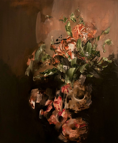 Still Life 2020 Oil on canvas 50 x 60 cm Available through Gallery 545