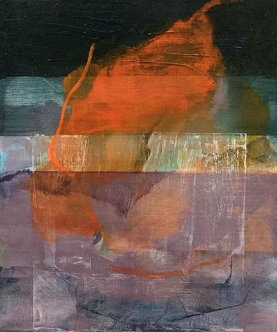Fog 2018 Oil on canvas 28 x 32 cm Royal Ulster Academy