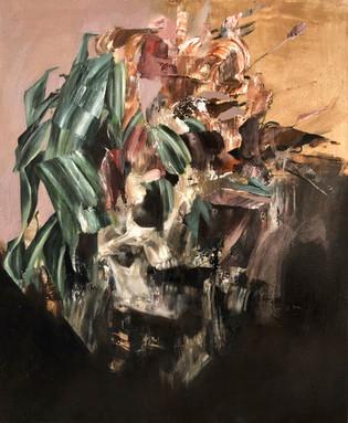 Vain Exterior 2019 Oil on canvas 50 x 60 cm (Sold)
