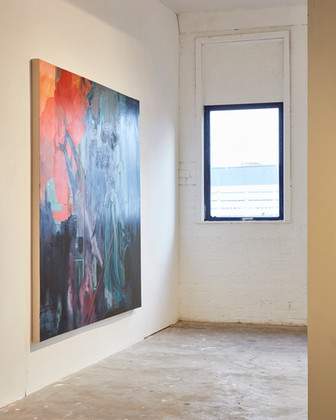 Install photograph by Simon Mills of 'Tuam' from 'Alternate Perspective,' at Platform Arts Belfast.