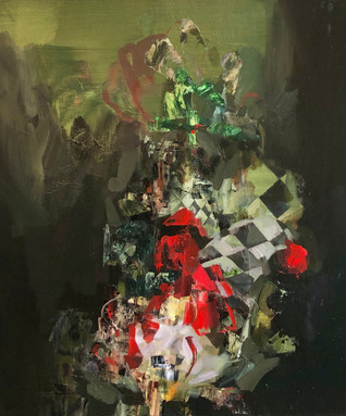 Black Sweet 2021 Oil on canvas 50 x 60 cm