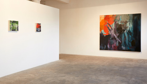 Installation photograph Platform Arts Belfast 2019