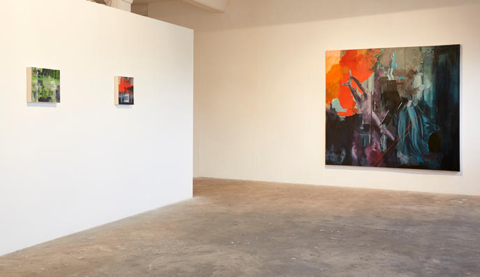 Installation photograph from 'Alternate Perspective,' Exhibition at Platform Arts Belfast. Photograph by Simon Mills