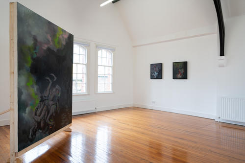 'White Walls' 2021 Exhibition & Residency as part of Art Arcadia. St Augustine's, Derry, photograph by Paola Bernardelli.