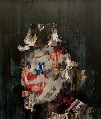 Substanceless Blue 2021 Oil on canvas 30 x 35 cm