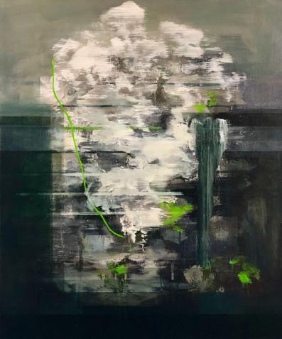 Muzzle Flash 2019 Oil on canvas 50 x 60 cm (Sold)