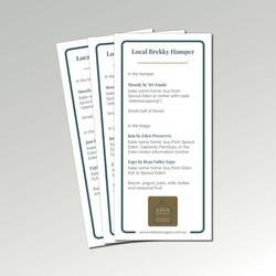 Breakfast Hamper Card