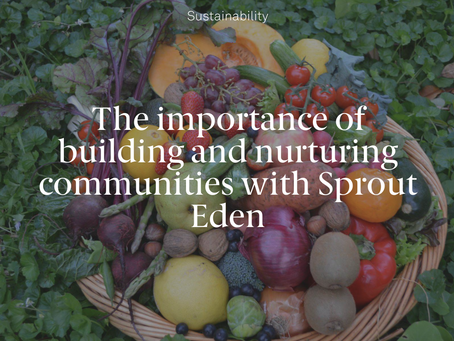 The Importance of Building and Nurturing Communities