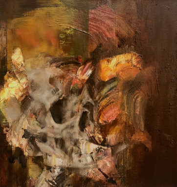Still 2020 Oil on canvas 26 x 28 cm (Sold)