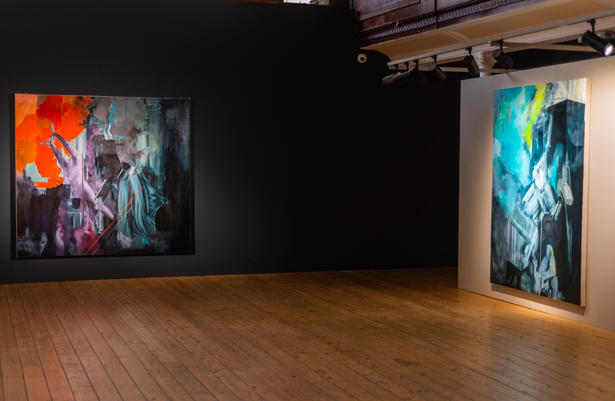 'Tuam' Installation photograph, The Glassworks Derry. Photograph by John Deery