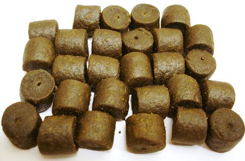 Mussel & Garlic Extreme Pellets - Pre Drilled Hook Pellets 14mm - Size Pack  75g