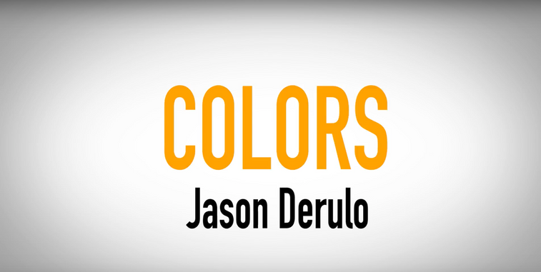 Colors by Jason Derulo