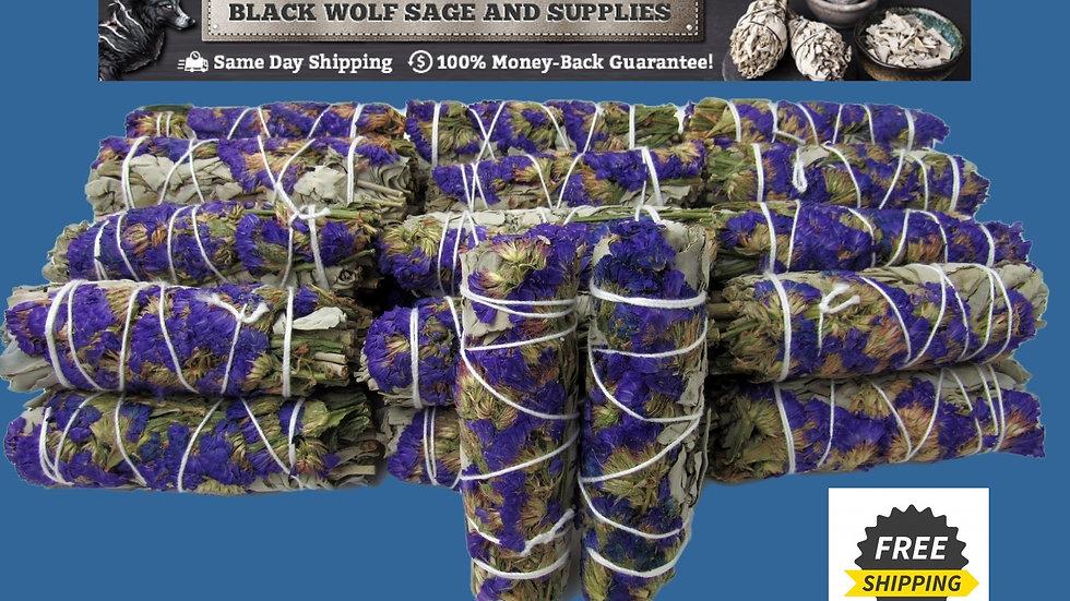 White Sage Blue Statice Sage