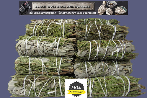 White/Rosemary Sage Bundle