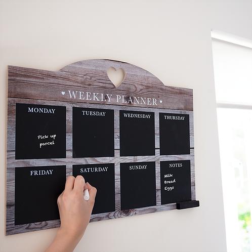 Weekly Home Planner Chalkboard