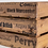 Thumbnail: Apple and Pears Printed Large Wooden Crate