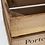 Thumbnail: Farm Printed Large Wooden Crate