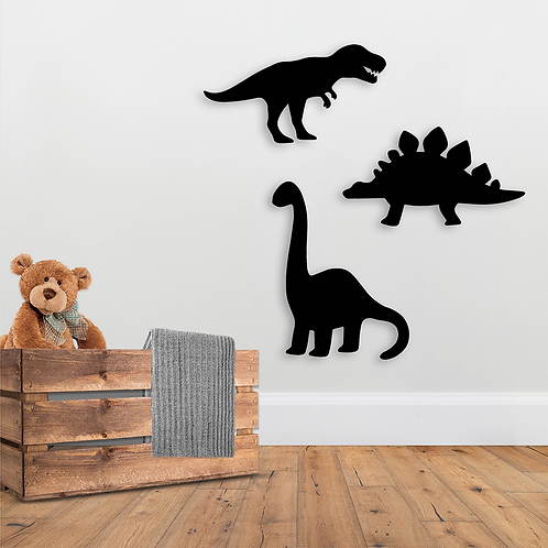 Shaped Dinosaur Chalkboards (Pack of 3)