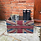 Thumbnail: Union Jack Printed Large Wooden Crate