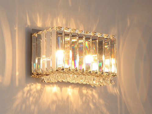 CHERISH 2lt Square Wall Light