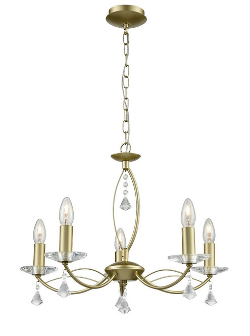MALTA 5lt Pendant / Semi-Flush Ceiling Light