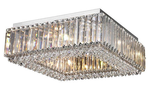 CHERISH 8lt Square Semi-Flush Ceiling Light