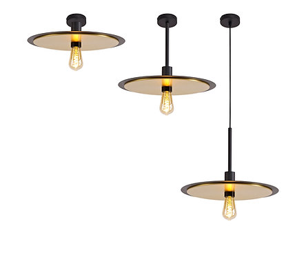 TOD 1lt Pendant / Semi-Flush Ceiling Light