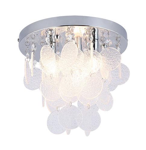 SPLASH E Small Semi-Flush Ceiling Light