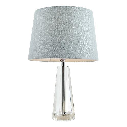Laura Ashley Blake Cut Glass Crystal Obelisk Table Lamp Base Small