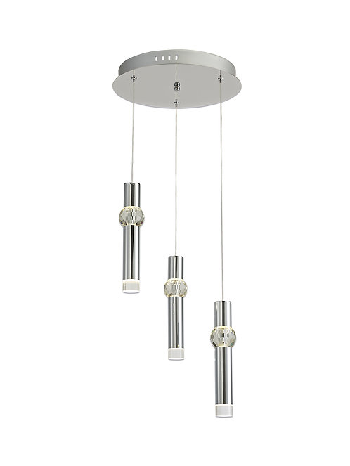 DIANA 3lt LED Round Pendant