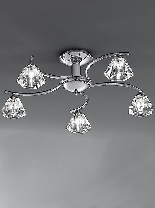 THEO 5lt Semi-Flush Ceiling Light