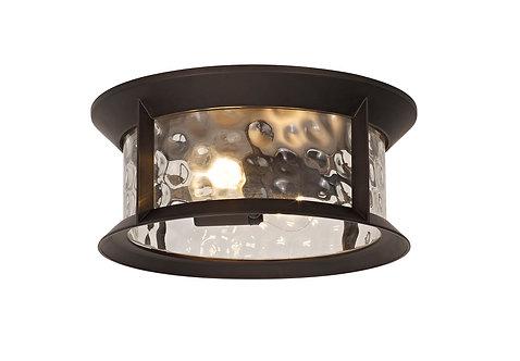 ELAINE 2lt Outdoor Flush Ceiling Light