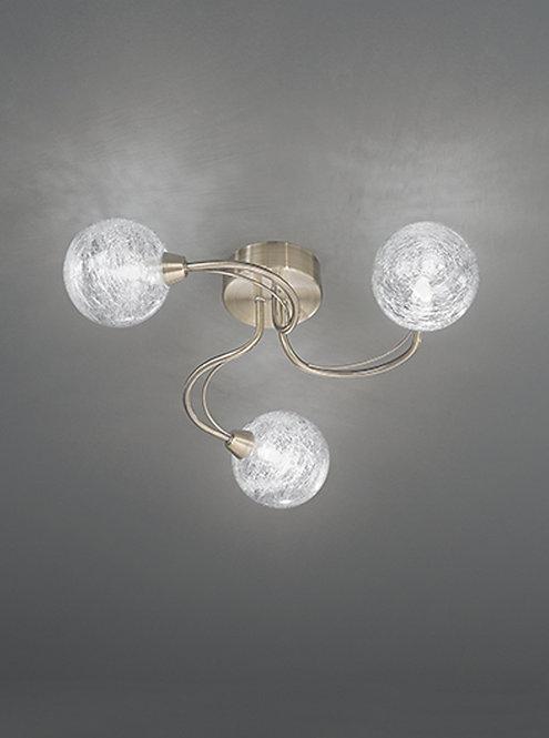 GABRIEL 3lt Flush Ceiling Light
