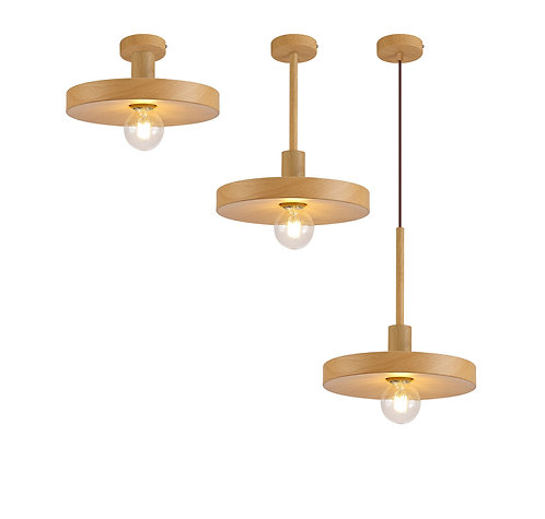 CHARLIE 1lt Pendant / Semi-flush Ceiling Light
