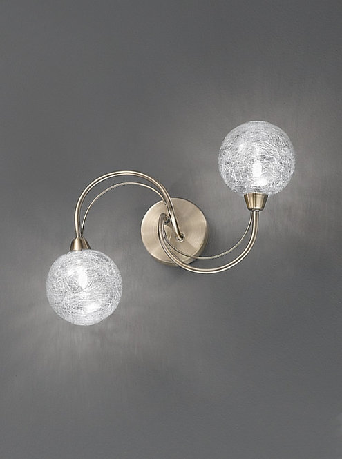 GABRIEL 2lt Wall Light / Ceiling Light