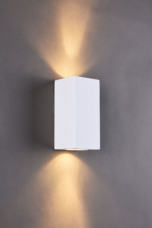 STUCCO 2lt Wall Light