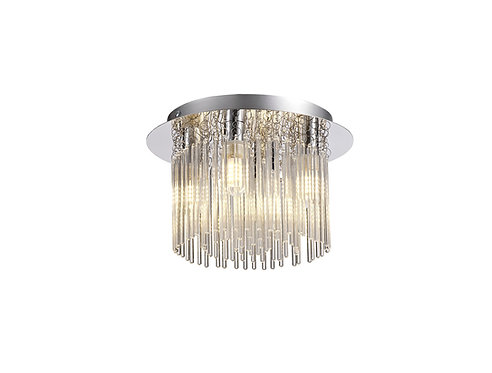 RODS 4lt Flush Ceiling Light